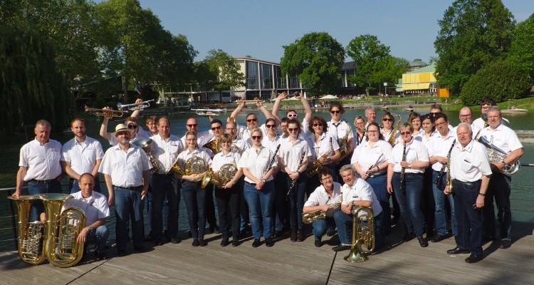 Blasorchester im Stadtgarten 2018