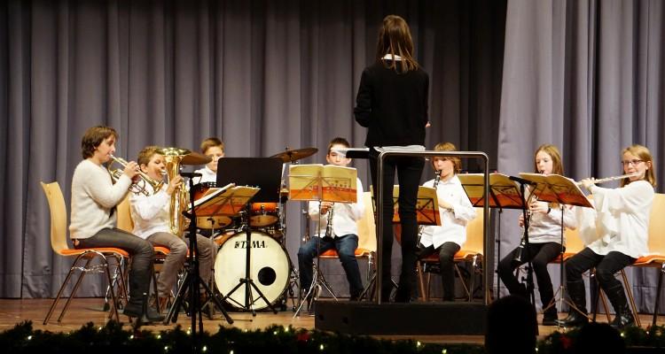 Schülerorchester Weihnachtsfeier 2018